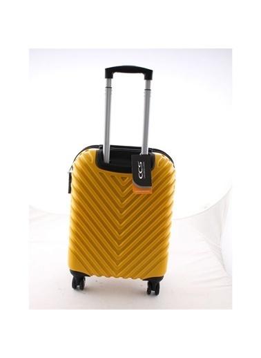 ÇÇS Çanta Valiz Sarı